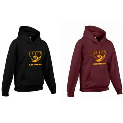 YOUTH heavy cotton hoodie - RAGE LOGO