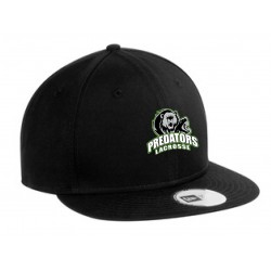 NEW ERA FLAT BILL SNAPBACK CAP - PREDATORS LOGO