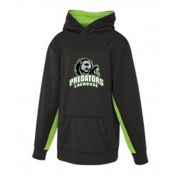 "Predators - YOUTH ATC GAME DAY ""dry-fit"" 2-tone FLEECE HOODIE"
