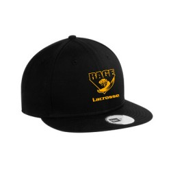NEW ERA FLAT BILL SNAPBACK CAP - RAGE LOGO